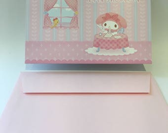 My Melody Pop Up Thank You Card