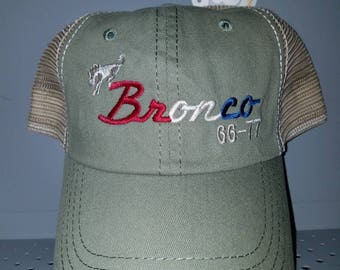 Early Bronco sage green American