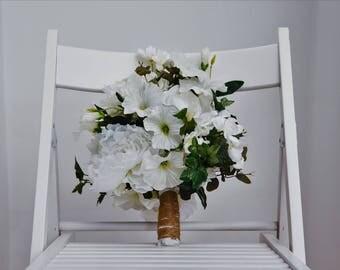 Constance Silk Artificial Flower Wedding Bouquet