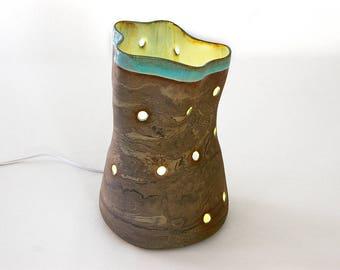Table lamp, light, decoration, design, light, lighting