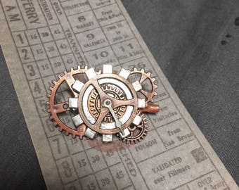 Steampunk Alloy Gear Pin