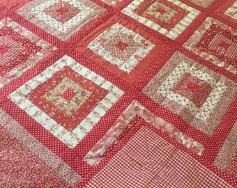 Red Square Quilt