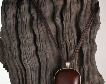 Entada Seed Necklace