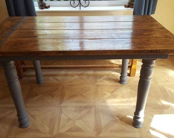 Rustic Farm House Table UK    275 Pound