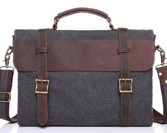 Messenger Bag / Satchel / Leather Satchel / Mens Satchel / Canvas Satchel / Men Leather Satchel / Satchel Men / Vintage Satchel