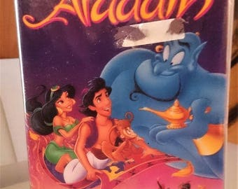Walt Disney Aladdin Black Diamond Vhs HIGHLY COLLECTABLE RARE Vintage