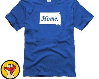 South Dakota Home State Tee Shirt T-Shirt More Colors XS - 2XL
