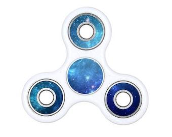 Blue Galaxy Fidget Spinner Decal, Spinner Fidget Decal, Fidgets, Colorful Fidget Decals, Hand Spinner Fidget Decals, Custom Decals