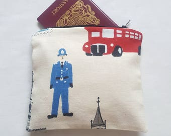 London Design Cosmetic Bag, Wash Bag, Toiletries Bag, Makeup Bag, Travel Bag - Ready for Dispatch