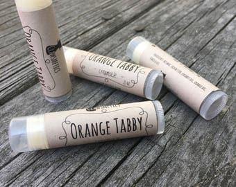 Orange Tabby (Creamsicle) - Clawsmetics Lip Balm