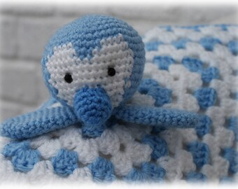 Penguin Comforter/Lovey Crochet Pattern