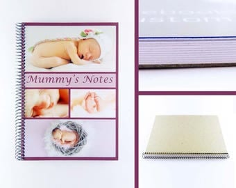 Personalised Notebook: Custom Photo Collage Cover in A4 and A5