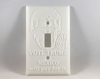 Funny Pro-Trump Light Switch Cover (Paintable)