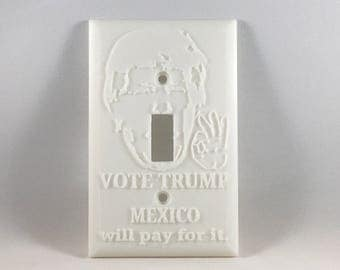 Funny Pro Trump Light Switch Cover (Paintable)