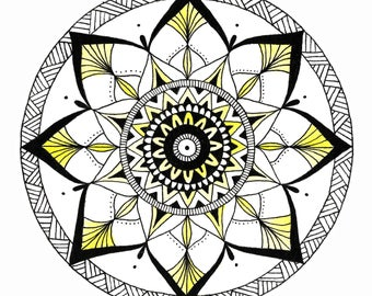 Mandala Project: Wednesday