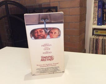 Driving Miss Daisy (1989) Morgan Freeman, Jessica Tandy - VHS Tape - Used