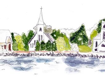 Mahone Bay, Nova Scotia (3 Churches)