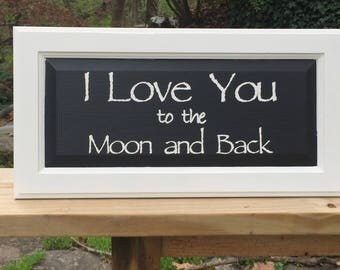 Wood sign handmade