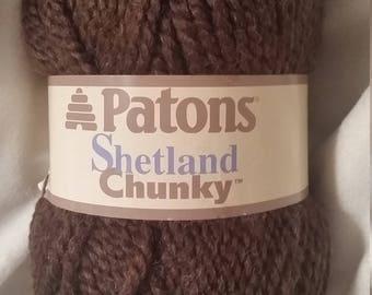 Patons Shetland Chunky - Earthy Brown