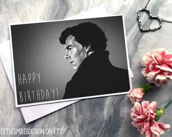 Sherlock - Birthday Card