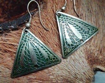 Earrings india brass