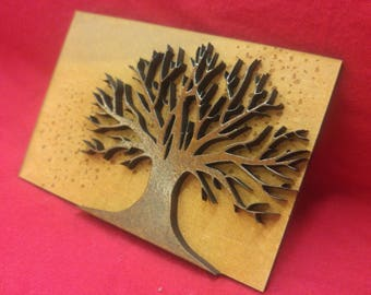 Stained Tree Wall Art