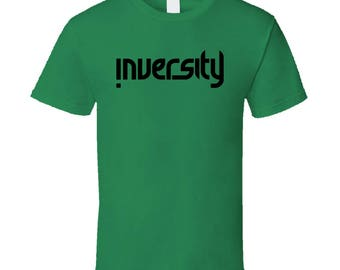 Inversity Kids Sport Irish Green- Black Logo T Shirt