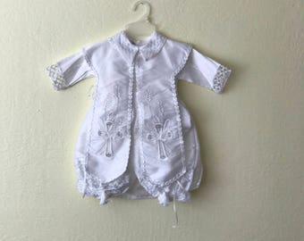 Baby boy Baptism outfit size 6mo - 1 year
