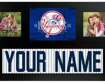 New York Yankees MLB Jersey Custom Picture Frame