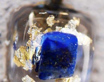 Lapis Lazuli/Gold Pendant