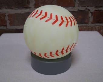 Battery Powered Baseball Night-Light