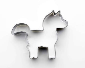 Pony Animal Cookie Cutter- Fondant Biscuit Mold - Pastry Baking Tool Set