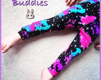 Galaxy leggings age 2-3 years