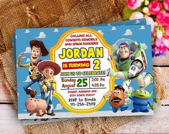 Toy Story Invitation, Toy Story Birthday, Toy Story Birthday Invitation, Toy Story Party, Toy Story Invites, Toy Story Birthday Party