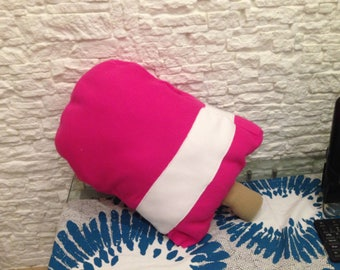 ice cream giant Strawberry flower cushion