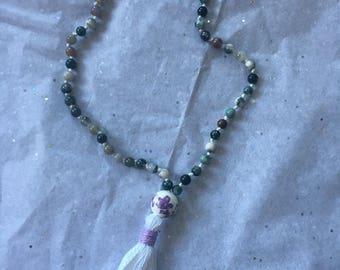 Mala meditation bracelet