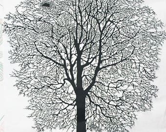 Paper cutting art, paper cut picture, big tree 45 x 40 CM