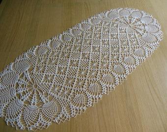 """Doily crochet oval """"BAHAMAS"""""""