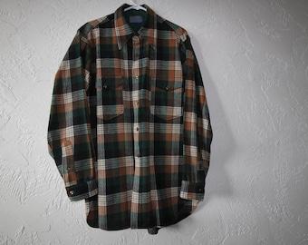 Vintage Mens Pendleton Wool Shirt