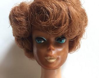 Vintage Barbie - redhead bubble cut 1965