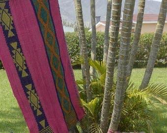 Rug / blanket handmade in Peru
