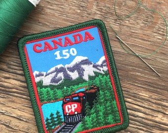Canada 150 – Embroidered Patch – Iron On – Limited Edition