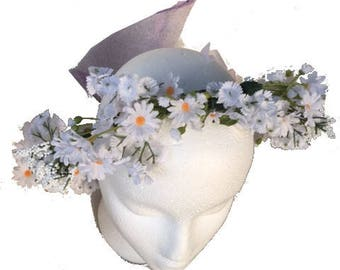 Daisy Floral Crown   B3
