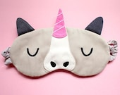 Unicorn Sleeping Mask, Unicorn Sleep Mask, Unicorn Eye Mask, Sleep eyemask, Unicorn Mask, beauty sleep, blindfold, McSparkles The Unicorn