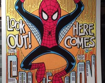 Spider-Man Digital Print