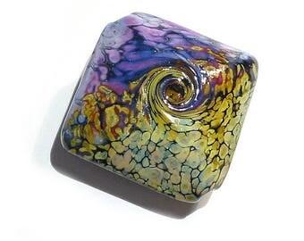 Rakuli  Jumbo Focal, Handmade Glass Lampwork Bead