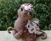 GingerBread Dragon - RESERVED FOR CUSTOMER - Myxie Dragon Pal Sculpture Commission