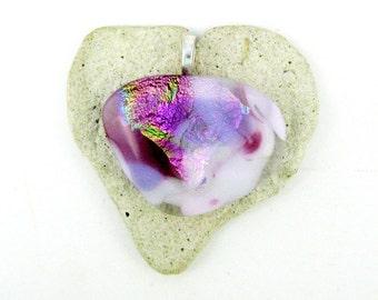 Pink Purple Heart of Heart
