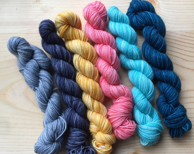 Featured listing image: I remember california - six quarter skeins