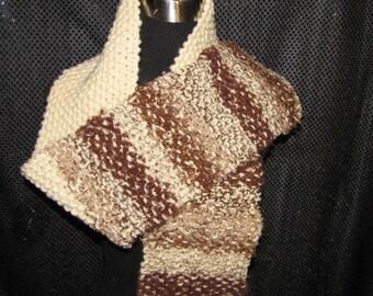 Handspun Handknit Scarf